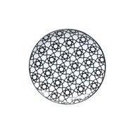 Tokyo Design Тарелка Tokyo Design Nippon, черная, 16x2 см
