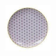Tokyo Design Тарелка Tokyo Design Star/Wave, сиреневый, 25.7x3 см