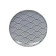 Tokyo Design Тарелка Tokyo Design Nippon, черная, 25.7x3 см