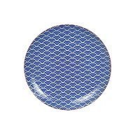 Tokyo Design Тарелка Tokyo Design Star/Wave, синяя, 25.7x3 см