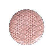 Tokyo Design Тарелка Tokyo Design Star/Wave, красная, 25.7x3 см