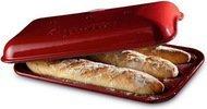 Emile Henry Форма для выпечки багетов, 39х24 см, гранат