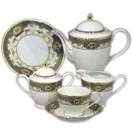 Yamasen Сервиз чайный Silver Gold на 12 персон, 41 пр.