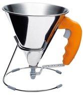 De Buyer Мини-воронка с клапаном (0.8 л), 15 см, раструб 7 мм, (3353.30)