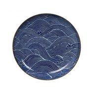 Tokyo Design Тарелка Tokyo Design Seigaiha, синяя, 25x3 см