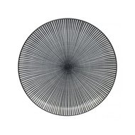 Tokyo Design Тарелка Tokyo Design Sendan, черная, 25x3 см