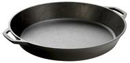 Lodge Сковорода круглая с двумя ручками, 44 см, черная