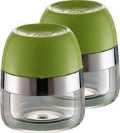 Wesco Баночки для хранения специй, 2 шт., 6х7 см, зеленый лайм (322776-20)