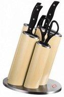 Wesco Набор ножей Азия, в подставке, кремовый