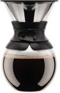 Bodum Кофейник с фильтром Pour Over (1 л), чёрный