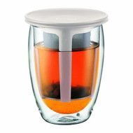 Bodum Термобокал Tea For One (0.35 л), белый