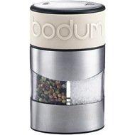 Bodum Мельница для соли и перца Twin, 6.8x11.2 см, белая