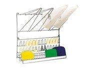De Buyer Полка настенная для кондитерских мешков и насадок, 50х50см (4347.20N)