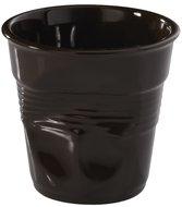 Revol Мятый стакан для эспрессо (80 мл), шоколад (RGO0108-19)