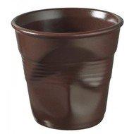 Revol Мятый стакан для эспрессо (80 мл), шоколад матовый (RGO0108-177)