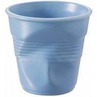 Revol Мятый стакан для эспрессо (80 мл), синий сатин (RGO0108-194)
