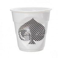 Revol Мятый стакан для капучино (180 мл), белый, масть пик (RGO0118-1-2246)