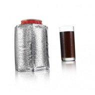 VacuVin Охладительная рубашка Active Cooler Can Silver J-Hook для емкостей 0.33 л, серебристая