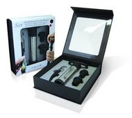 Vin Bouquet Набор для вина 2 Lever Corkscrew & Pump Set, 4 пр.