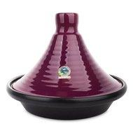 Graupera Тажин керамический (2.25 л), 28х24 см, черно-лиловый