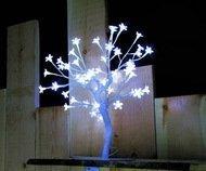Globall Concept Светодиодное дерево с цветками, 45 см, 48 белых LED, 24 V