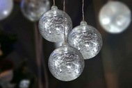 Globall Concept Украшение Glasslight LED, 3 стеклянных шара, 10 см, белые, 24 V