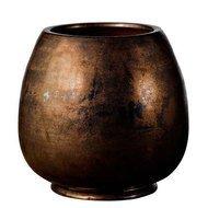 Deroma Кашпо Crystal Rosenpot Black Rust, серебристо-черное, 27x26 см