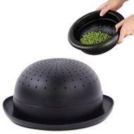 Doiy Дуршлаг Bowler Hat, 28х24х11 см, черный