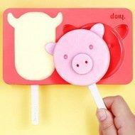 Doiy Форма для мороженого Zoo farm, 16х3х12 см