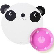 Doiy Коврик с миской Hungry panda, 35х3х35 см