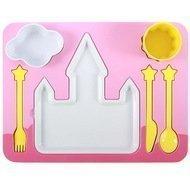 Doiy Поднос-сервиз для ребенка Princess, 35х26х8.5 см, 7 пр.
