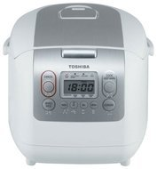 Toshiba Мультиварка (4.5 л), 680 Вт, белая