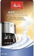 Melitta Очиститель от накипи для фильтр-кофеварок, 6х20 гр