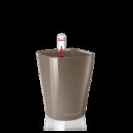 Lechuza Кашпо Мини-Дельтини, серо-коричневое, 10х10х13 см