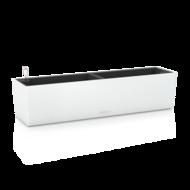 Lechuza Кашпо Балконера Колор 80, белое, с системой полива, 19х19х80 см