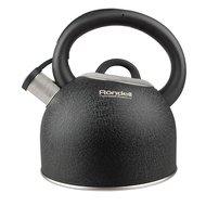 Rondell Чайник Infinity (2.7 л), 14.5 см, черный