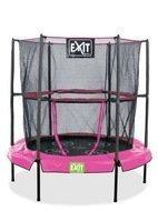 Exit Батут домашний, 140 см, розовый