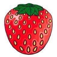 BigMouth Покрывало пляжное Strawberry