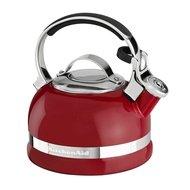 KitchenAid Чайник наплитный (1.89 л), со свистком, красный