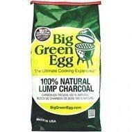 Big Green Egg Уголь древесный органический крупнокусковой, пакет 4.5 кг