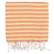 Barine Полотенце пляжное Herringbone Pestemal, 100х180см, оранжевое
