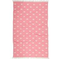 Barine Полотенце пляжное Star Pestemal, 90х160 см, розовое