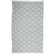 Barine Полотенце пляжное Star Pestemal, 90х160 см, серое