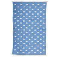 Barine Полотенце пляжное Star Pestemal, 90х160 см, синее