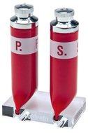 Contento Набор для соли и перца P.S., 8х5.1х12.5 см, красный