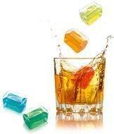 Contento Охлаждающие кубики для напитков Freeze It!, 3.6х2.4х2.4 см, 6 шт.