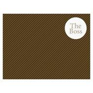 Contento Сервировочная салфетка The Boss, 40х30 см, коричневая