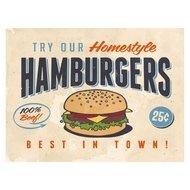 Contento Сервировочная салфетка Hamburgers, 40х30 см