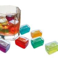 Contento Охлаждающие кубики для напитков Freeze It!, 3.6х2.4 см, 6 шт.