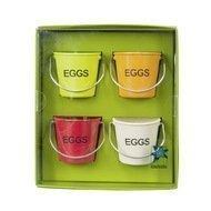 Contento Набор подставок для яиц Peggy, 4.7х4.5 см, 4 шт.